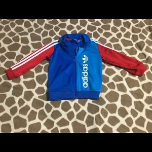 Adidas limited edition zip- up sweater